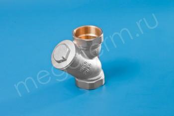 """Латунь. Фильтр сетчатый Ду 50 (G 2"""") - Производство и продажа полипропиленовых труб «МегаТерм»"""