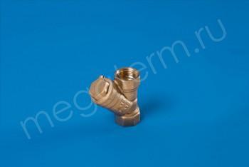 """Латунь. Фильтр сетчатый Ду 15 (G 1/2"""") - Производство и продажа полипропиленовых труб «МегаТерм»"""