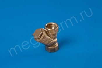 """Латунь. Фильтр сетчатый Ду 20 (G 3/4"""") - Производство и продажа полипропиленовых труб «МегаТерм»"""