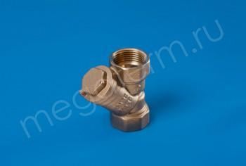 """Латунь. Фильтр сетчатый Ду 25 (G 1"""") - Производство и продажа полипропиленовых труб «МегаТерм»"""