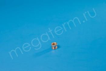 """Латунь. Футорка Ду 15-10 (НР.G 1/2""""-ВР.G 3/8"""") - Производство и продажа полипропиленовых труб «МегаТерм»"""