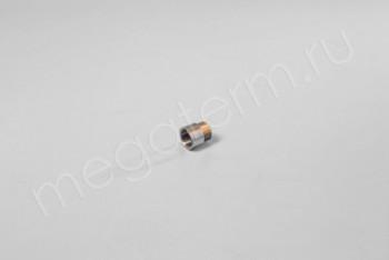 """Латунь. Удлинитель Ду 15ВнР- 15НарР (G 1/2""""F-1/2""""M), L= 10 мм - Производство и продажа полипропиленовых труб «МегаТерм»"""