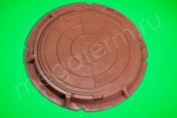 Люк  полимерный легкий малый, 30 кН (красный) - Производство и продажа полипропиленовых труб «МегаТерм»
