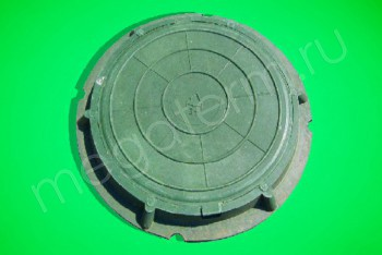 Люк  полимерный легкий малый, 30 кН (зеленый) - Производство и продажа полипропиленовых труб «МегаТерм»