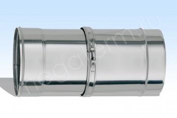Труба Моно d 130, L=570-900 мм Нержав.Сталь.(t=1,0) (Огнерус) - Производство и продажа полипропиленовых труб «МегаТерм»
