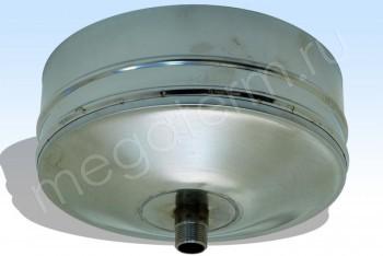 Заглушка Моно со Спуск-ом d 115 L=100 НС.(t=1,0) (Огнерус) - Производство и продажа полипропиленовых труб «МегаТерм»