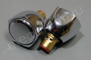 Маховик д/смесителя с кран-буксой F0009 (пара) (Frap) - Производство и продажа полипропиленовых труб «МегаТерм»