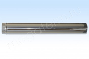 Труба Моно d 110, L= 500 мм. Нержав.Сталь.(t=0,5) (Огнерус) - Производство и продажа полипропиленовых труб «МегаТерм»