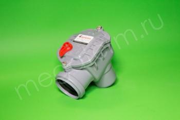 Канализация Клапан Обратный ПП  50 угловой, серый - Производство и продажа полипропиленовых труб «МегаТерм»