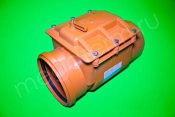 Канализация Клапан Обратный ПП 250, рыжий - Производство и продажа полипропиленовых труб «МегаТерм»
