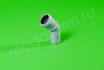 Канализация Отвод  32 х 45*, серый - Производство и продажа полипропиленовых труб «МегаТерм»