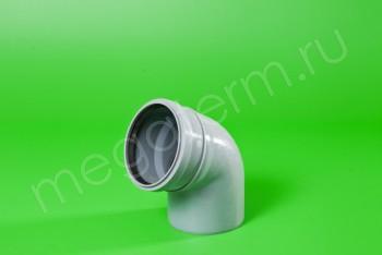 Канализация Отвод 110 х 67*, серый - Производство и продажа полипропиленовых труб «МегаТерм»