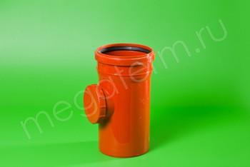 Канализация Ревизия 160, Наружная рыжая - Производство и продажа полипропиленовых труб «МегаТерм»