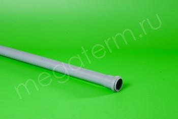 Труба канализационная 40/L=1000, серая - Производство и продажа полипропиленовых труб «МегаТерм»