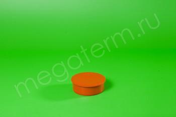 Канализация Заглушка ПП 110, Наружная рыжая - Производство и продажа полипропиленовых труб «МегаТерм»