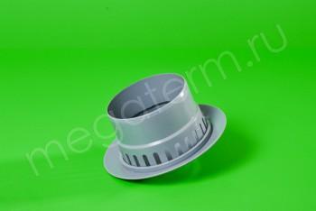 Канализация Зонт  Вентиляц. ПП110, серый - Производство и продажа полипропиленовых труб «МегаТерм»