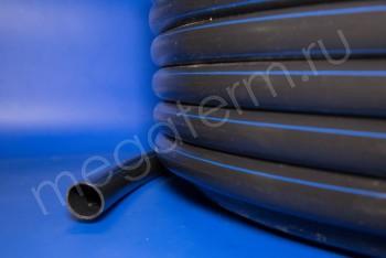 ПЭ Труба Напорная D  32 х2,4 PN12,5 (SDR 13,6) 100м Разметка - Производство и продажа полипропиленовых труб «МегаТерм»