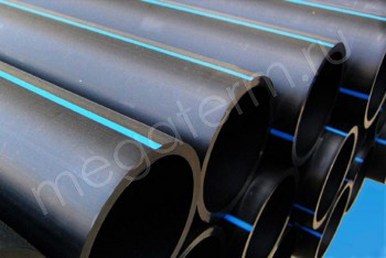 ПЭ Труба Напорная D 400 х15,3 PN 6 (SDR 26)  12м - Производство и продажа полипропиленовых труб «МегаТерм»