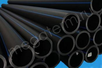 ПЭ Труба Напорная D 125 х9,2 PN12,5 (SDR 13,6) 12м - Производство и продажа полипропиленовых труб «МегаТерм»