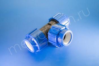 ПНД Тройник соеденительный D 40 - Производство и продажа полипропиленовых труб «МегаТерм»