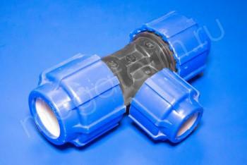 ПНД Тройник переходной D 32-25-32 - Производство и продажа полипропиленовых труб «МегаТерм»
