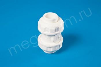 ППРС Клапан обратный D20  PN10,  Для агр. сред - Производство и продажа полипропиленовых труб «МегаТерм»