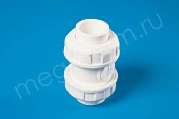 ППРС Клапан обратный D25  PN10, Для агр. сред - Производство и продажа полипропиленовых труб «МегаТерм»