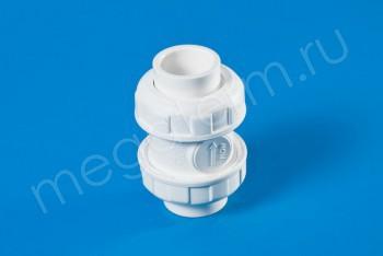 ППРС Клапан обратный D32  PN10, Для агр. сред - Производство и продажа полипропиленовых труб «МегаТерм»