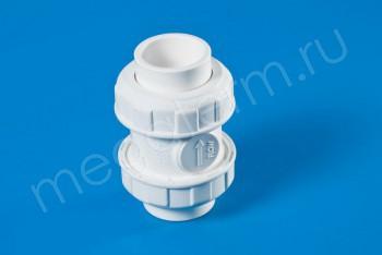 ППРС Клапан обратный D40  PN10, Для агр. сред - Производство и продажа полипропиленовых труб «МегаТерм»