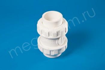 ППРС Клапан обратный D50  PN10, Для агр. сред - Производство и продажа полипропиленовых труб «МегаТерм»