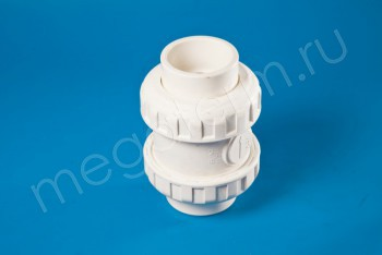 ППРС Клапан обратный D63  PN10, Для агр. сред - Производство и продажа полипропиленовых труб «МегаТерм»