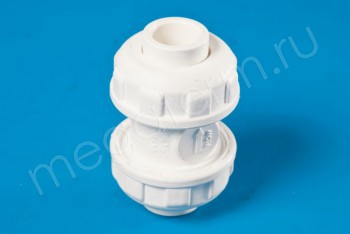 ППРС Клапан обратный D75  PN10, Для агр. сред - Производство и продажа полипропиленовых труб «МегаТерм»