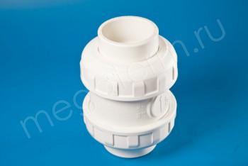 ППРС Клапан обратный D90  PN10, Для агр. сред - Производство и продажа полипропиленовых труб «МегаТерм»