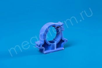 ППРС Опора D 25 (с защелкой) синяя - Производство и продажа полипропиленовых труб «МегаТерм»