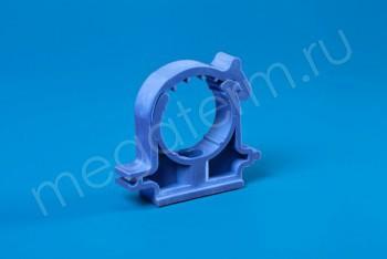 ППРС Опора D 32 (с защелкой) синяя - Производство и продажа полипропиленовых труб «МегаТерм»