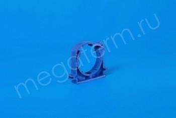 ППРС Опора D 50 (с защелкой) синяя - Производство и продажа полипропиленовых труб «МегаТерм»