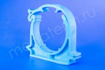 ППРС Опора D 63 (с защелкой) синяя - Производство и продажа полипропиленовых труб «МегаТерм»
