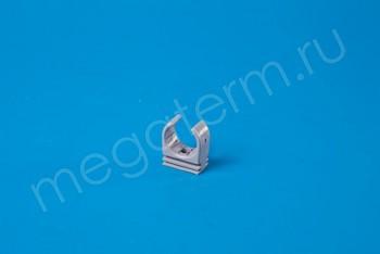 ППРС Опора- клипса D20 (серая) - Производство и продажа полипропиленовых труб «МегаТерм»