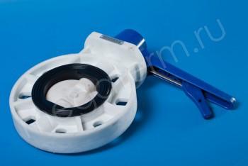 ППРС Затвор 031 PW пов. диск.DN 100  PN10, пластик (Dendor) - Производство и продажа полипропиленовых труб «МегаТерм»