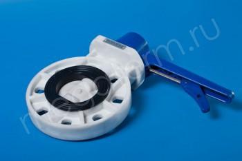 ППРС Затвор 031 PW пов. диск.DN  80  PN10, пластик (Dendor) - Производство и продажа полипропиленовых труб «МегаТерм»