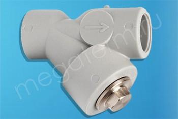 ППРС Фильтр сетчатый D20 - Производство и продажа полипропиленовых труб «МегаТерм»