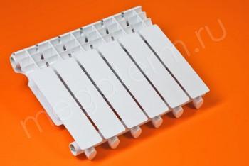 Радиатор Отопления Алюминий 350/80  6 секций STI - Производство и продажа полипропиленовых труб «МегаТерм»