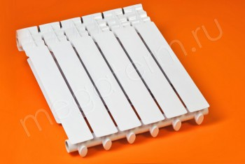 Радиатор Отопления Алюминий 500/80  6 секций STI - Производство и продажа полипропиленовых труб «МегаТерм»