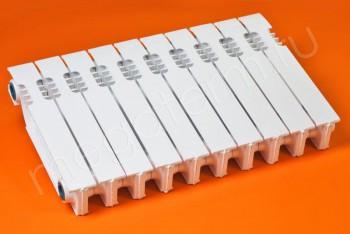 Радиатор Чугунный Нова-300 10 секций цвет белый (STI) - Производство и продажа полипропиленовых труб «МегаТерм»