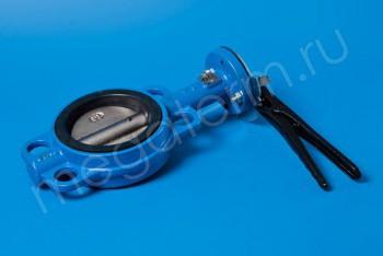 Чугун. Затвор поворотно-дисков. Ду100  ручн Ру16 (Ci) - Производство и продажа полипропиленовых труб «МегаТерм»