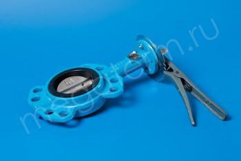 Чугун. Затвор поворотно-дисков. Ду 80  ручн (Ci) - Производство и продажа полипропиленовых труб «МегаТерм»