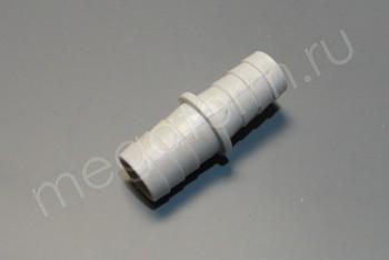 Соединитель Шланга 22 - 19 Прямой. Пластик - Производство и продажа полипропиленовых труб «МегаТерм»