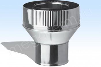 Адаптер Котла Термо d 82- 80/D180 Нерж.Ст.0,5 / Оцин.Ст.0,5 (Огнерус) - Производство и продажа полипропиленовых труб «МегаТерм»