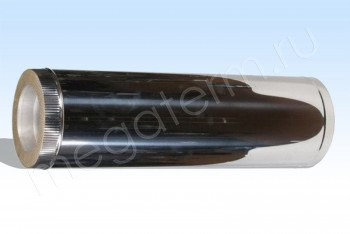 Труба Термо d110/D200 Нерж.Ст.0,8 / Нерж,Ст.0,5 L=1000 (Огнерус) - Производство и продажа полипропиленовых труб «МегаТерм»