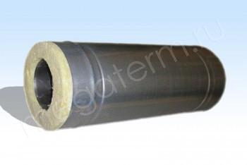 Труба Термо d140/D220 Нерж.Ст.0,8 / Оцин.Ст.0,5 L= 500 (Огнерус) - Производство и продажа полипропиленовых труб «МегаТерм»